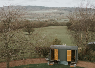 The Little Shepherd luxury washroom for hire in the United Kingdom.