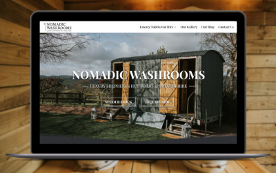 New Website Launch at Nomadic Washrooms