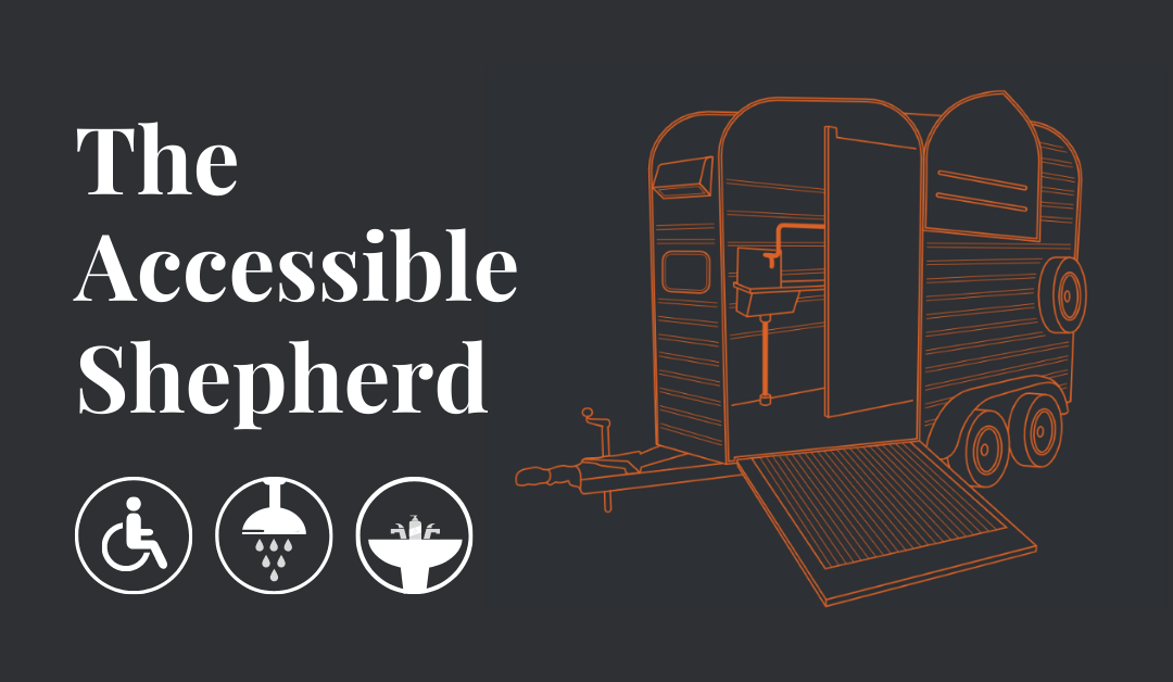 The Accessible Shepherd is a disabled toilet for hire in the UK coming soon to Nomadic Washrooms.