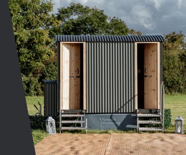 The Little Shepherd Luxury Shepherd Hut Toilet Hire in the UK.